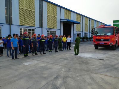 FIRE SAFETY TRAINING AT THANH THANH TECHNICAL RUBBER CO.,LTD