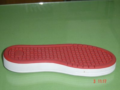 Rubber shoe soles